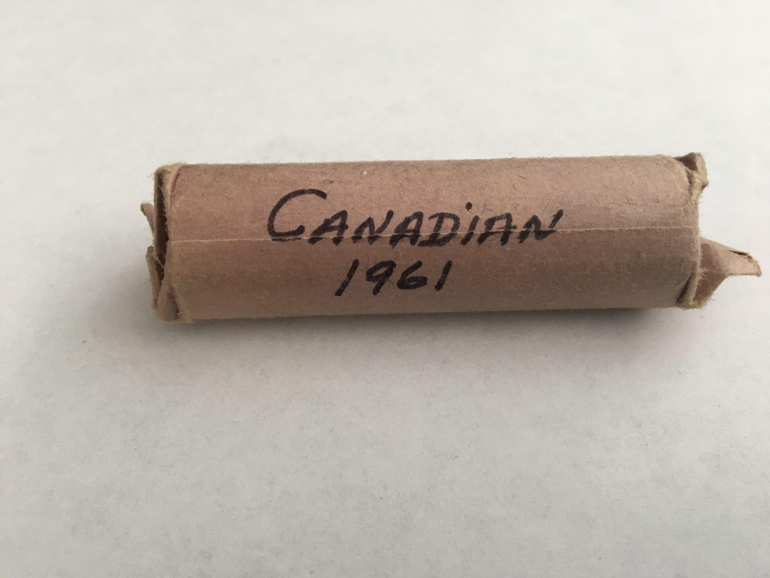 Canada 1961 Nickel Pictures Elizabeth II & a Beaver- Roll of 40