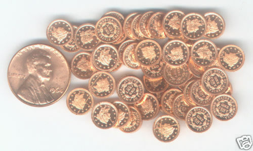WHOLESALE USA 1816 CORONET CENT 20 PIECES FRANKLIN MINT HIGH QUALITY MINI PROOFS