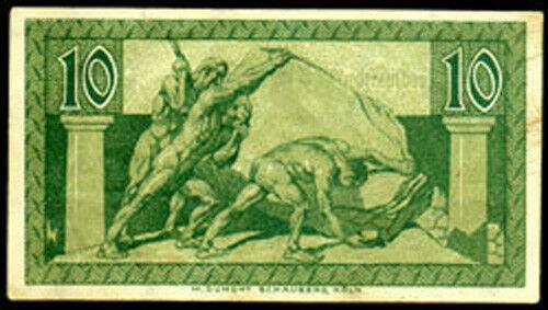 WHOLESALE - REAL UNC 50 (FIFTY) NOTGELD of 3 NAKED MEN PUSHING 1920 BONN GERMANY