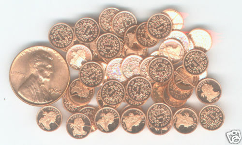 20 FRANKLIN MINT HIGH QUALITY 1808 CLASSIC MINI PROOF