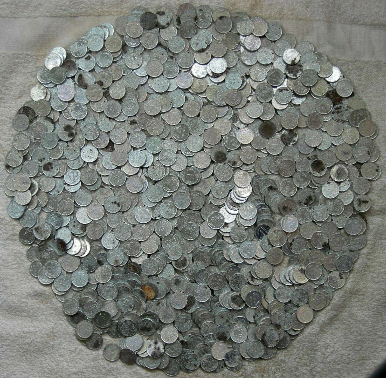 WHOLESALE 1000 BELGIUM COIN of LIBERATION (1944) by PHILADELPHIA MINT ZINC STEEL